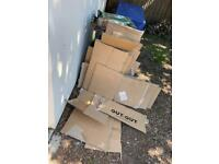 Cardboard - ideal for your no-dig allotment