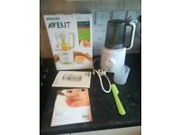 Philips Avent 2-in-1 healthy baby food maker steamer/ Blender