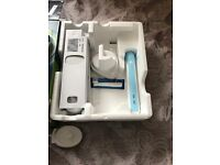 2 electric oral b toothbrushes