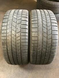 2 PW 255 45 20(105V) Pirelli Scorpion Ice&Snow AO M+S Extra Load