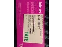 2 x David Hockney tickets 8th of May