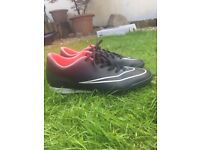 Nike mercurial size 9 Astro turf or red gra in excellent condition
