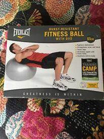 Brand new fitness ball