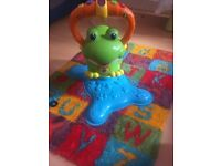 Baby/toddler interactive frog