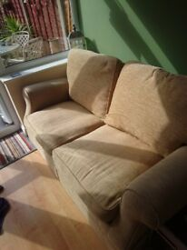 Laura Ashley double sofa/bed settee. Excellent condition, barely used.