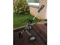 Golf trolley excellent condition