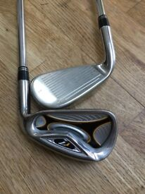 Taylor Made R7 Irons: 4 - SW Steel Shaft