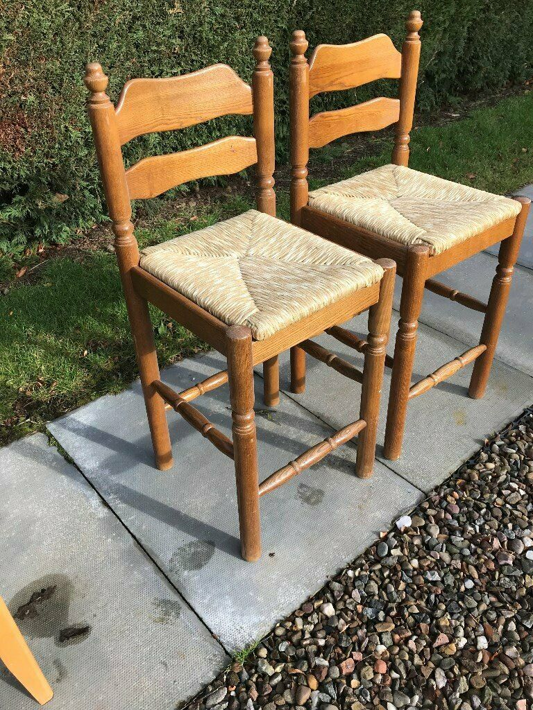 Astonishing Two Breakfast Bar Stools In Blairgowrie Perth And Kinross Gumtree Cjindustries Chair Design For Home Cjindustriesco