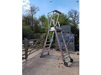 Podium ladder tower