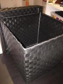Black basket