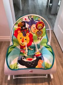 Fisher Price Infant-to-Toddler Rocker Excellent Condition