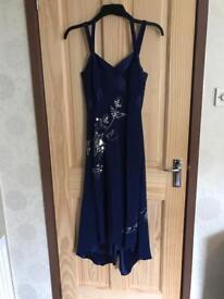 Blue Pierce Fionda Embelished Dress