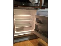 Integrated under counter fridge IGNIS, in Excellent working condition, with all hardware.