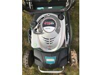 Petrol lawnmower mulcher
