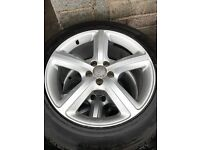 Audi Q5 S Line Alloy wheels and Tyres