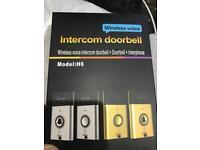 Wireless doorbell with speaker 300m