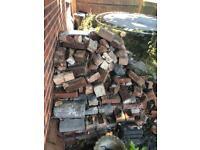 Broken and whole bricks