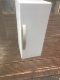 Grey cubboard whith handle