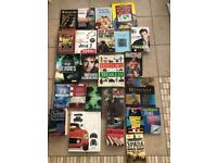 Variety of 24 hard back and soft back books