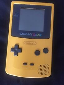 2 Gameboy Color's and Gameboy Pocket with games and charger