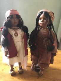 African Porcelain Dolls