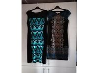 2 beautiful size 14 ladies dresses