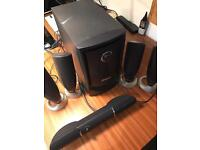 Dell 5.1 surround sound system MMS5650