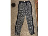 Size 10 floral summer trousers
