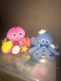 Baby bundle activity octopuses Lamaze & Baby Einstein excellent condition