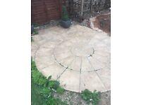Paving circle 2.4metres