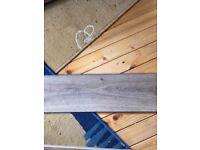 Wood effect laminate flooring 18 months old