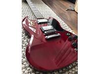 Gibson SG Copy Guitar with gig bag