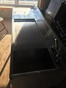 Bar Sink - Commercial Stainless Steel Sink for Bar - iFoodEquipment.ca