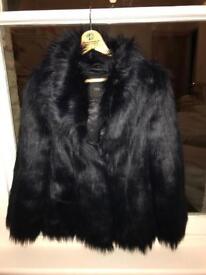 Beautiful Feraud faux fur jacket - unworn