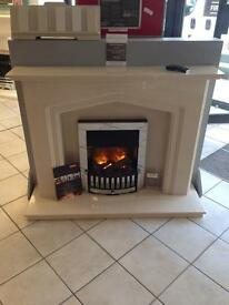 Marble fireplace brand new