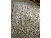 Dunelm biscuit slumber rug 160 x 230cm in good condition