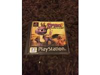 PlayStation 1 boxed spyro 2 game. Ps1