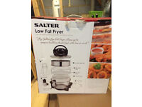 Low Fat Fryer - Brand New Salter Low Fat Fryer - never been used in box.