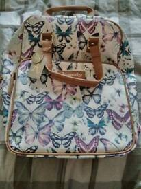 Acessoroes ruck sack with butterflies on