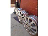 "alloy wheels 16"" sxi astra £30 each no tyres"