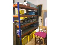 Heavy Duty Shelving Rapid Racking Chipboard