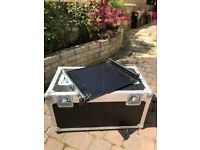 "19"" inch Rack tray for road case or flight case. Sliding racking tray."