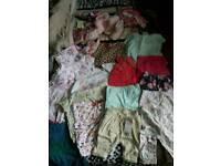 Girls bundle clothes 3-12months