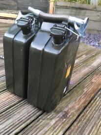Military fuel jug tank 20L