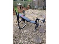 Weight bench for sale mint condition £60