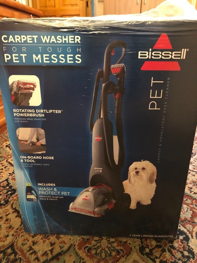 Bissell Pet Carpet Upholstery Deep Cleaner Brand New In Acocks