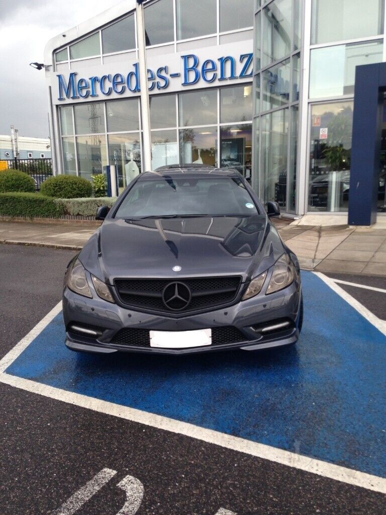 Mercedes Benz E Class Sport Edition 125 Coupe In South