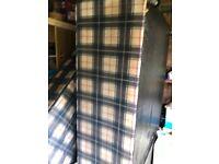 Single divan bed matteress and headboard