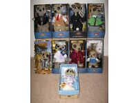Complete original family of 9 Meerkats. Brand new, in original packaging with all paperwork.