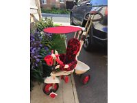 Smart Trike Dream 4-in-1 with all accesories